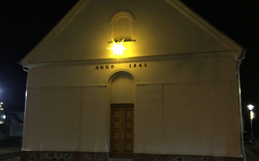 Wiedereinweihung der Dorfkirche in Schönwalde