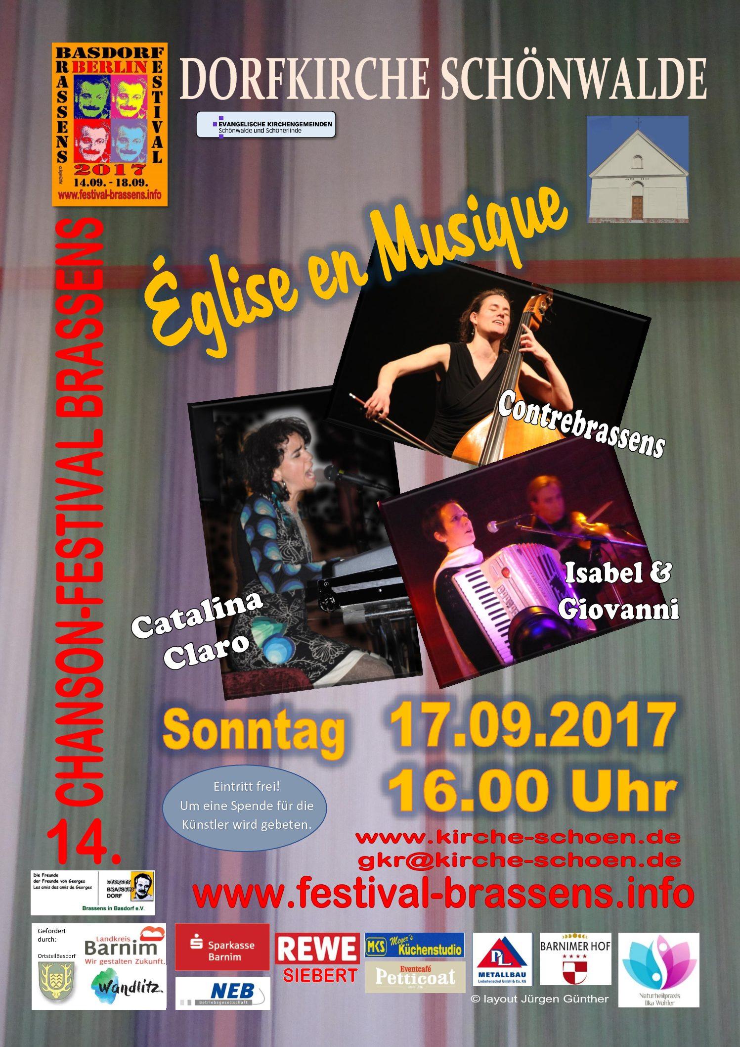 Brassens-Festival 2017