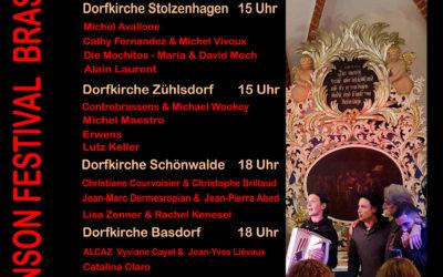 Brassens-Konzert in der Dorfkirche Schönwalde